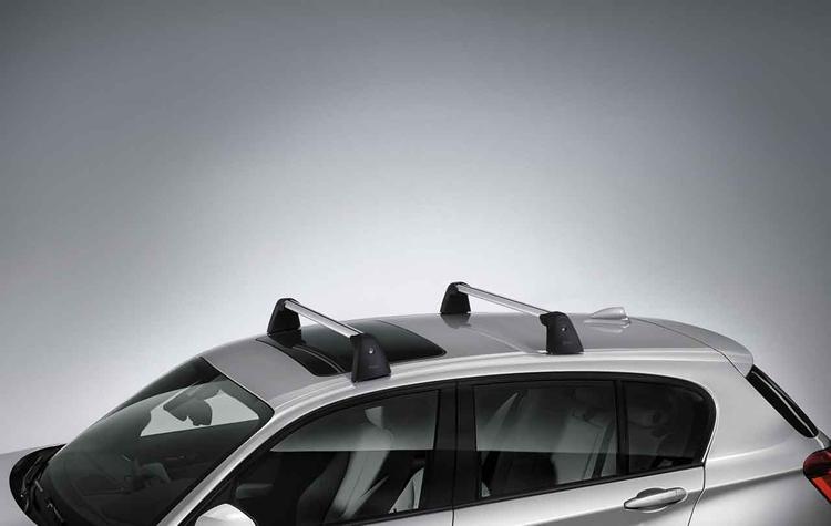 barres de toit bmw pour bmw s rie 1 f20 dans accessoires d. Black Bedroom Furniture Sets. Home Design Ideas