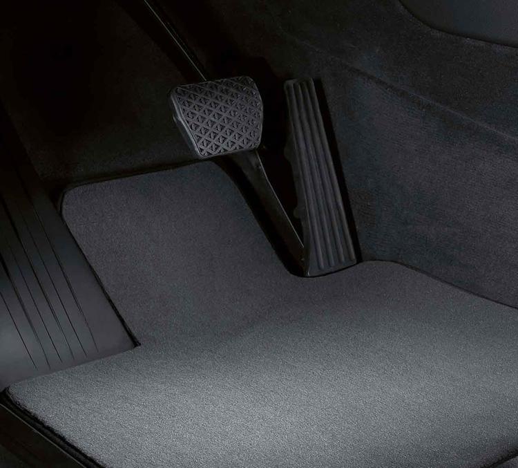 Uitgelezene Jeu de 4 tapis de sol velours anthracite pour BMW X5 E70 dans NS-02
