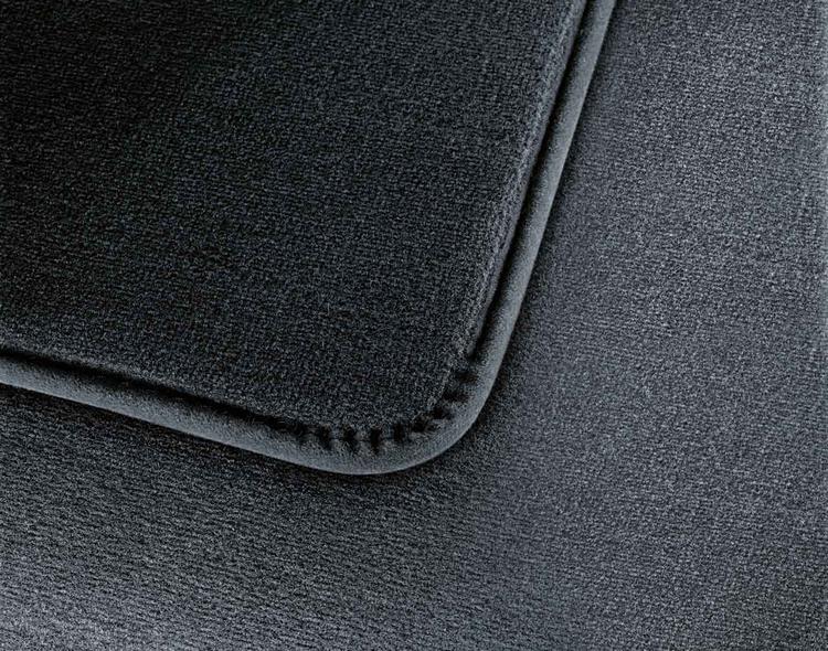jeu de 4 tapis de sol velours anthracite pour bmw s rie 3. Black Bedroom Furniture Sets. Home Design Ideas