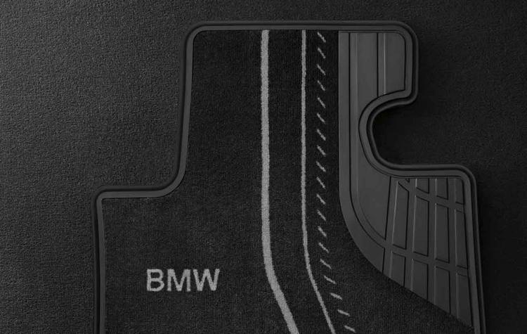 tapis de sol textile avant basic pour bmw s rie 1 f20 f21 et s rie 2 f22 f23 dans accessoires d. Black Bedroom Furniture Sets. Home Design Ideas