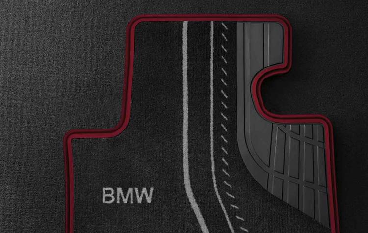 tapis de sol textile avant sport pour bmw s rie 3 f30 f31 f34 dans accessoires d 39 origine bmw. Black Bedroom Furniture Sets. Home Design Ideas