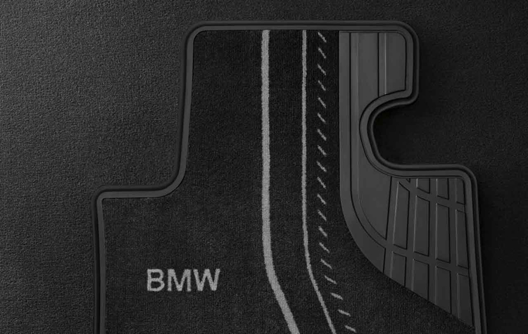 tapis de sol textile arri re basic pour bmw s rie 3 f30 f31 et s rie 4 f36 dans accessoires d. Black Bedroom Furniture Sets. Home Design Ideas