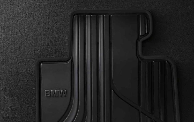 Tapis de sol caoutchouc arri re basic pour bmw s rie 1 f20 f21 dans accessoires d 39 origine bmw Tapis de sol bmw serie 1