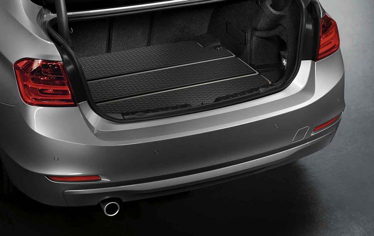 bac de coffre bagages modern pour bmw s rie 3 f30 dans accessoires d 39 origine bmw accessoires. Black Bedroom Furniture Sets. Home Design Ideas