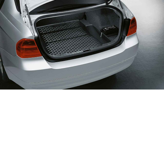 tapis de coffre sur mesure pour bmw s rie 3 e90 e92 dans accessoires d 39 origine bmw. Black Bedroom Furniture Sets. Home Design Ideas